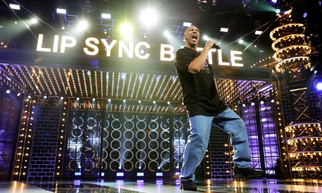 """LaVar Ball Performs """"Hate Me Now"""" on Lip Sync Battle"""