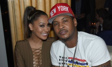 Carmelo Anthony showing Valentine's Day Love
