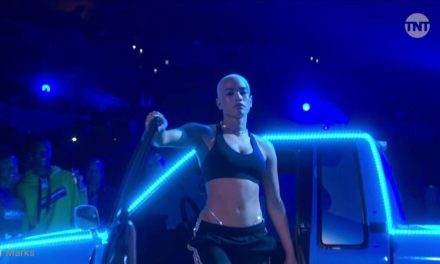 Dancer Mette Towley Stole The Show at NBA All-Star Game