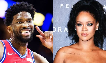 Joel Embiid Gives Hilarious Response to Questions about Rihanna and his Twitter Beefs