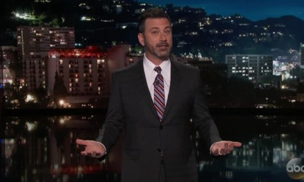 Jimmy Kimmel Explains Why He Smiled During Fergie's National Anthem