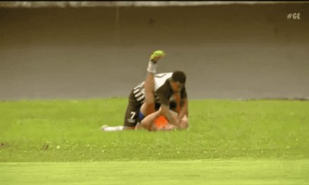 Soccer Player Punches ballboy in the face Multiple Times Over Celebration