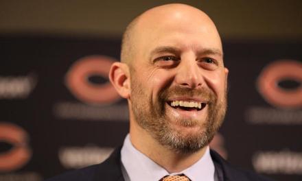 Chicago Bears Head Coach Had his Eye on Mitchell Trubisky