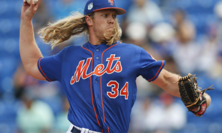 Noah Syndergaard Would Only Discuss Hitting Triple Digits Without a Shirt