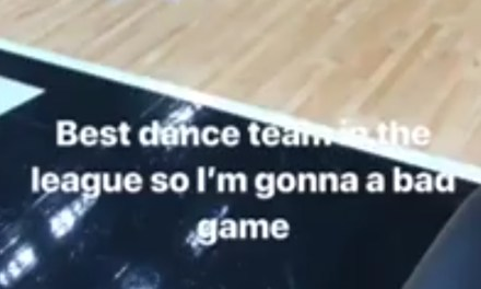 """Joel Embiid Predicts an Off Game in Miami Because of the """"Best Dance Team in the League"""""""