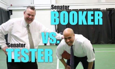 Senators Play Prison Ball to Raise Awareness