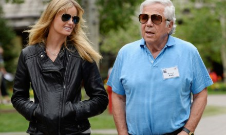 Robert Kraft's Girlfriend Had a Secret Baby