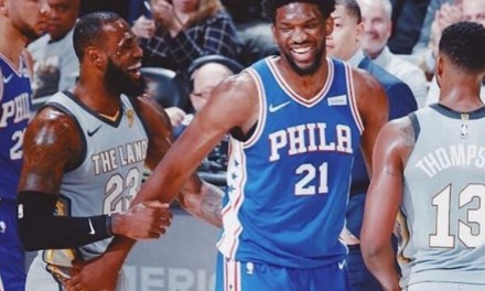 Joel Embiid Recruited LeBron During and After Cavs-Sixers Game
