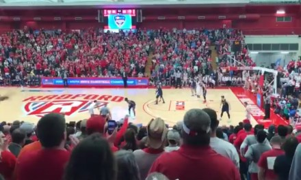 Radford Punches Thier Ticket To The NCAA Tournament with a Three Pointer at the Buzzer