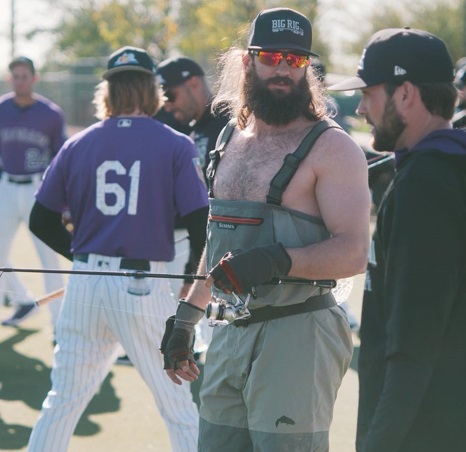 Rockies Hold on Field Casting Competition