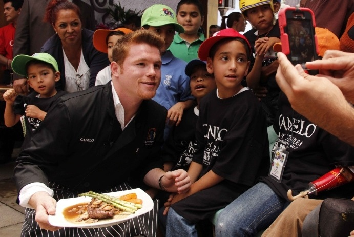 Canelo Alvarez Blames Failed PED Test on Bad Meat