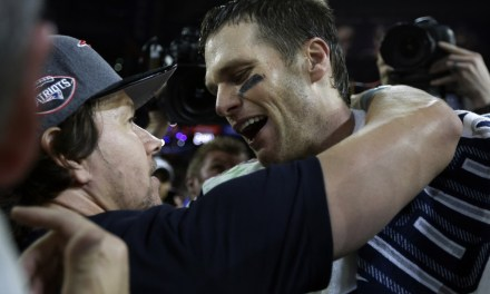 Tom Brady Anoints Mark Wahlberg To Play Him in Biopic