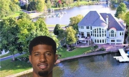 Paul George Unloading his Waterfront Indiana Mansion