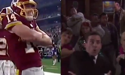 """Redskins WR Trey Quinn did """"The Scarn"""" and Michael Scott Approved"""