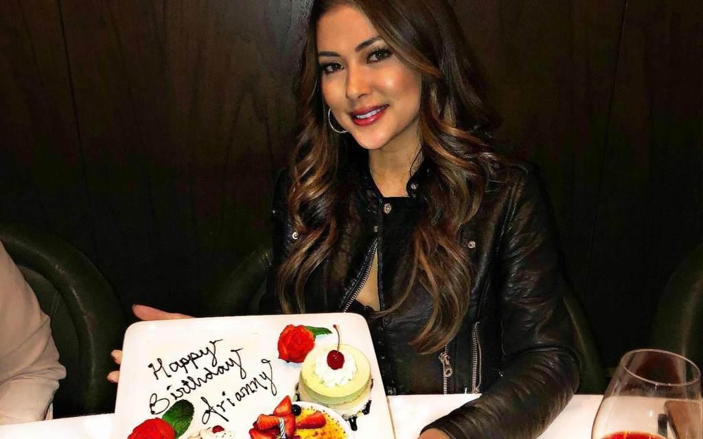 UFC Star Arianny Celeste Celebrates Birthday in Vegas