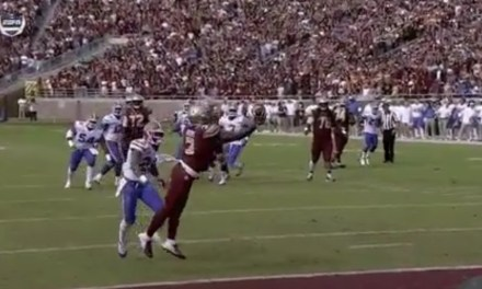 Florida State RB Cam Akers Made a Ridiculous One-Handed Catch for a Score