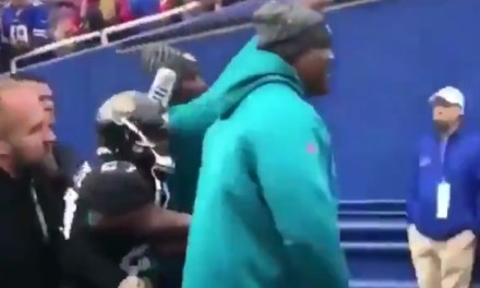 Bills Fans Threw a Beer at Leonard Fournette after He Was Ejected