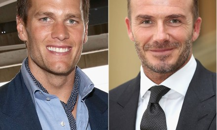 Tom Brady Defends David Beckham for Kissing His Daughter on the Lips