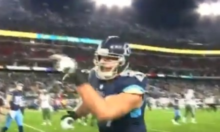 Titans O Lineman Taylor Lewan Dropped F-Bombs on Refs