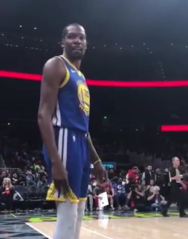 Kevin Durant Told Hawks Fans To Watch the Game and Shut Up