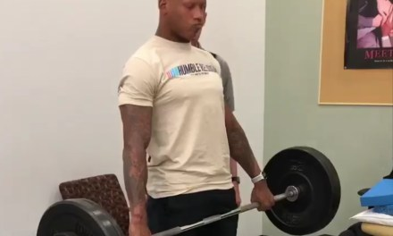 Ryan Shazier Doing Deadlifts has to be a Good Sign