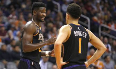 Deandre Ayton and Devin Booker Engaged in Verbal Confrontation in Front of Media