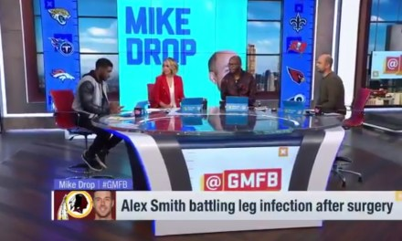 """The Latest on Alex Smith is that He's Had Close to a """"Half a Dozen"""" Surgeries on Infected Leg"""