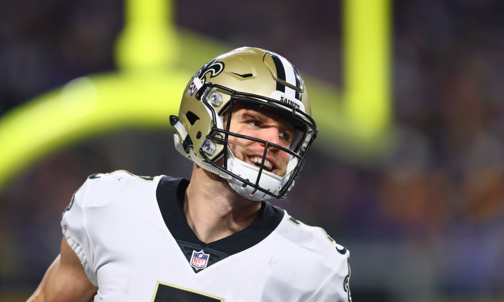 Saints Backup QB Taysom Hill Blocked a Punt
