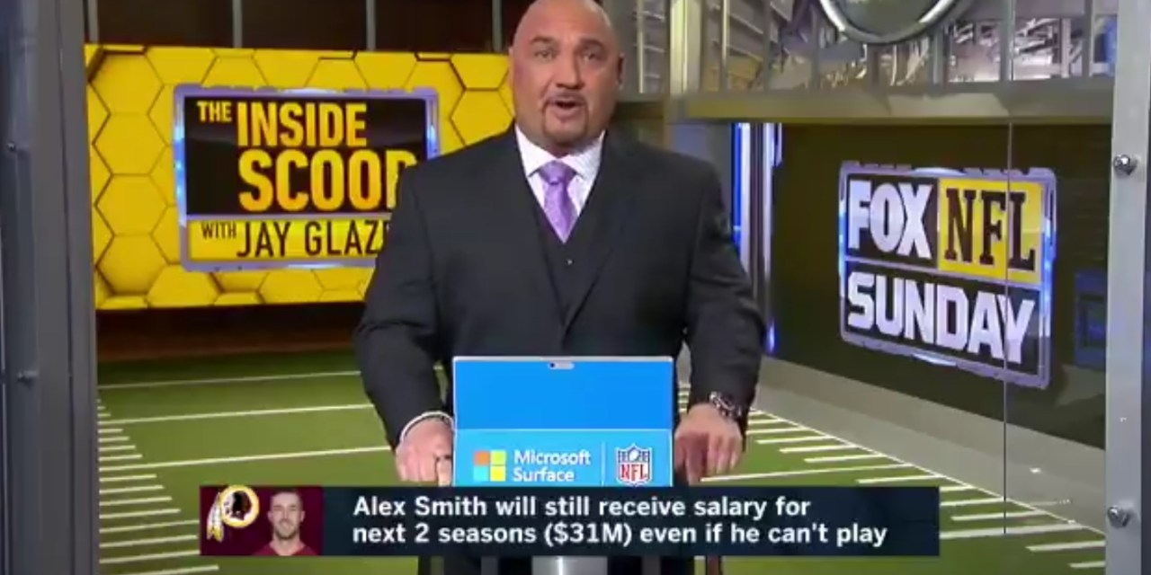 Jay Glazer Confirms Alex Smith's Complications Due to Infection Could be Career Ending
