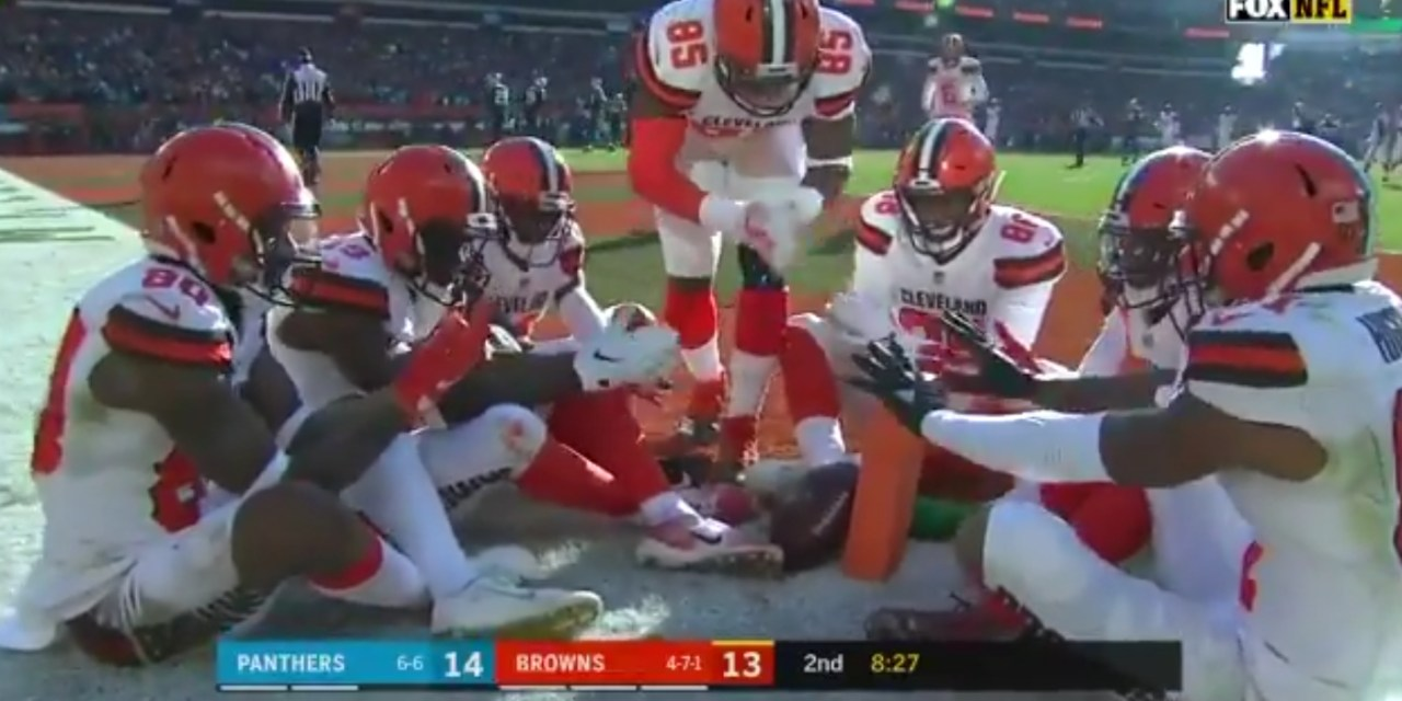 Baker Mayfield Burns the Panthers Defense with an Absolute Dime to Jarvis Landry