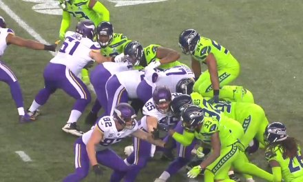 Game Changing Blocked Field Goal by Bobby Wagner Should Have Been Flagged for Leverage