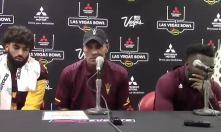 """Herm Edwards after Loss in the Las Vegas Bowl """"We Didn't Lose the Game We Just Ran Out of Time"""""""