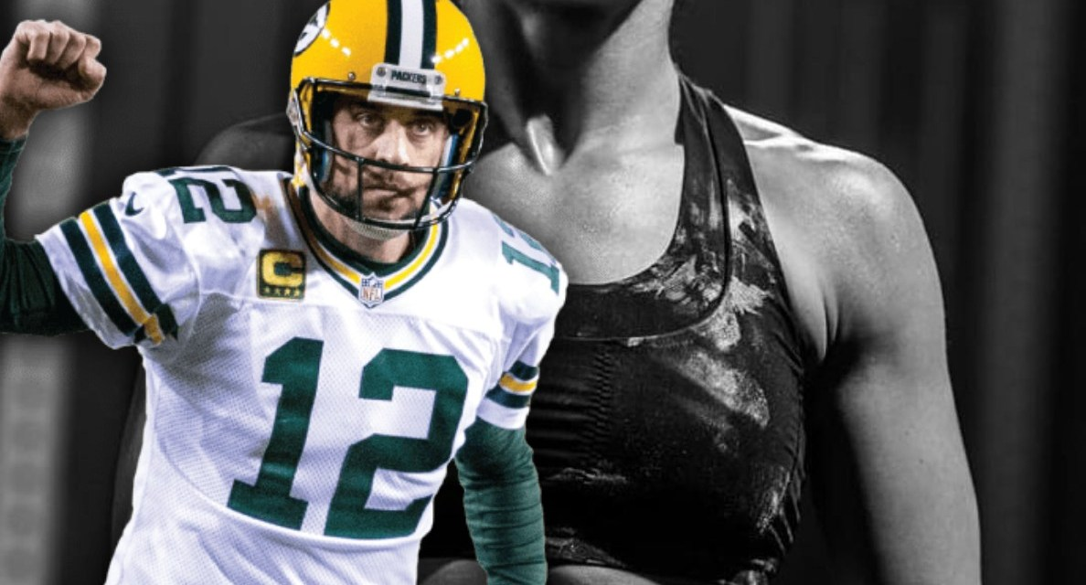 Aaron Rodgers Commented on Danica Patrick's Sexy Post as She Cheered on the Pack from Paris