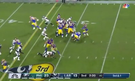 Jared Goff Made an Ugly Play Worse with One of the Worst Turnovers of the Season