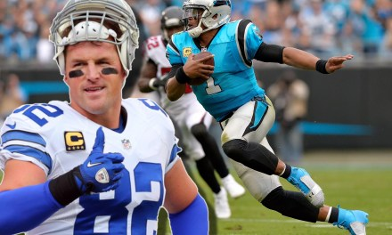 Jason Witten Said Cam Newton Is Great At Running After the Catch