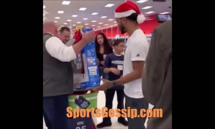 Derrick Rose at Target