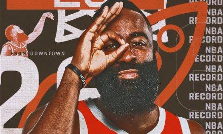 Houston Rockets Hit NBA Record 26 3's