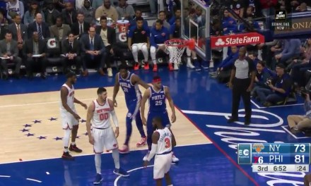 Ben Simmons Bullied Noah Vonleh then Stared Him Down after Throwing Down a Monster Dunk