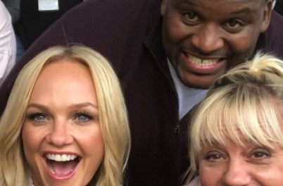Former NFL Player Anthony 'Spice' Adams' Epic Response to Working with Emma Bunton