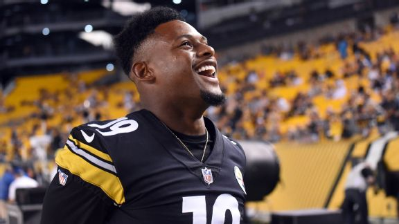 JuJu Smith-Schuster Says He's Playing this Sunday for Fantasy Football