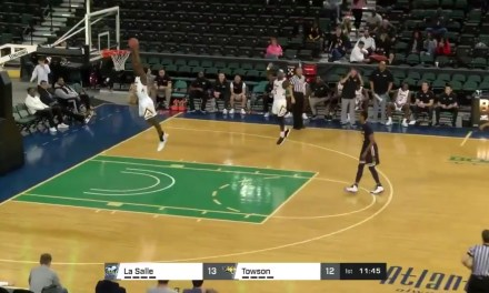Towson Basketball Player Scored on the Wrong Basket