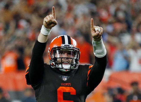 Go Fund Me Page Started to Help Pay for Baker Mayfield's Gesture Fine
