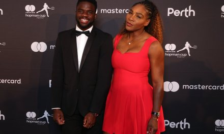 Serena Williams and Roger Federer on the Red Carpet for New Year's Eve