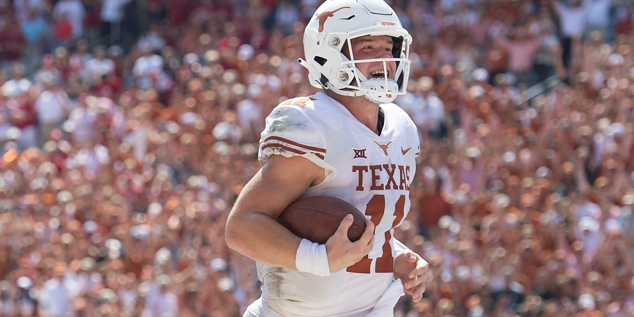 The Texas Longhorns Have an Interesting Play in Their Playbook