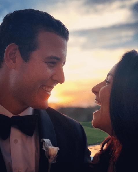 Cubs First Baseman Anthony Rizzo Tied the Knot Over the Weekend