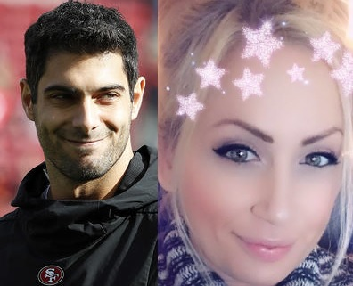 Check Out Jimmy Garoppolo's Latest Follow