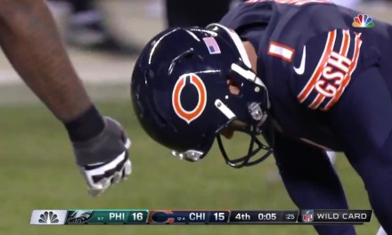 Bears Season Ends on a Cody Parkey Missed Field Goal