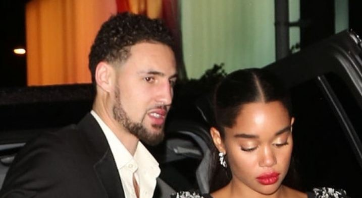 More Pics of Klay Thompson and Laura Harrier at the Golden Globes After Party