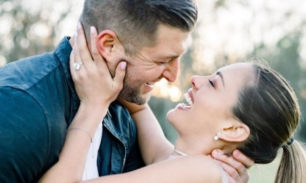 Tim Tebow Popped the Question