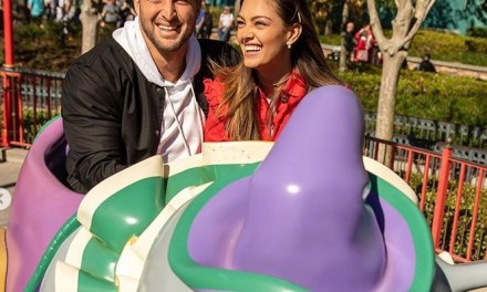 Tim Tebow and His Fiance Demi-Leigh Nel-Peters Celebrate Engagement at Happiest Place on Earth